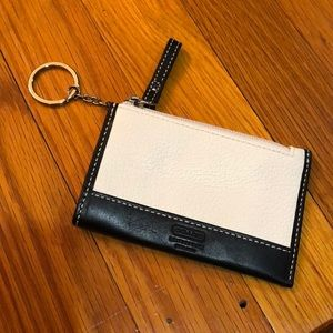Coach card and key holder